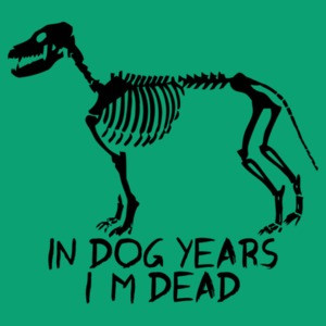 In Dog Years I'm Dead Funny