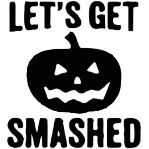Let's get smashed - halloween pumkin
