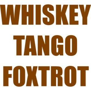 WHISKEY TANGO FOXTROT Funny