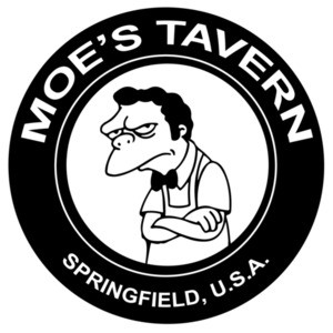 Moe's Tavern Springfield USA The Simpsons