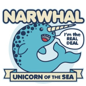 Narwhal Unicorn Of The Sea - Funny