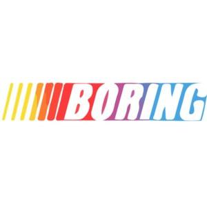 Nascar Boring