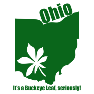 Ohio, It's A Buckeye Leaf Marijuana