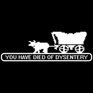 Oregon Trail You Have Died Of Dysentery