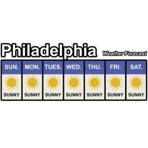 Philadelphia Weather Forecast - It's always sunny in Philadelphia