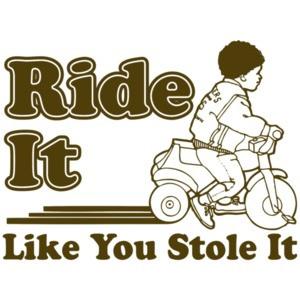 Ride It Like You Stole It