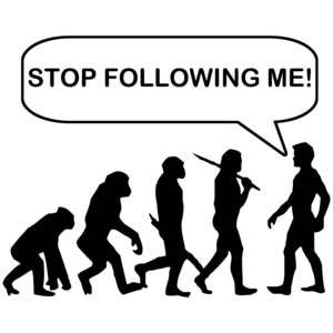 Stop Following Me Evolution