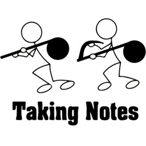 Taking Notes - Pun