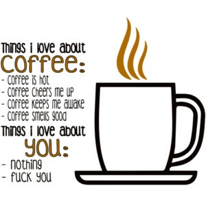 Things i love about coffee