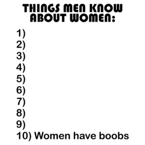 Things Men Know About Women