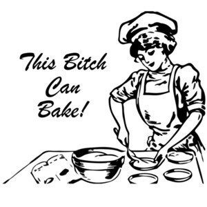 This bitch can bake -