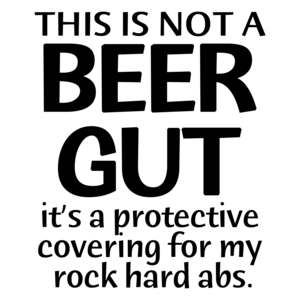 This Is Not A Beer Gut Funny