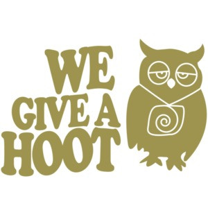 We Give a Hoot - Funny Owl
