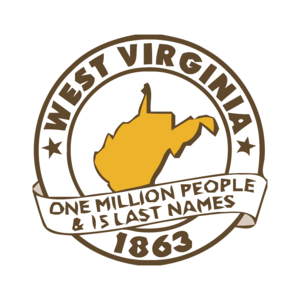 West Virginia, One Million People And 15 Last Names