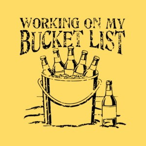 Working On My Bucket List