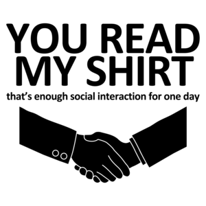 You Read My, That's Enough Social Interaction