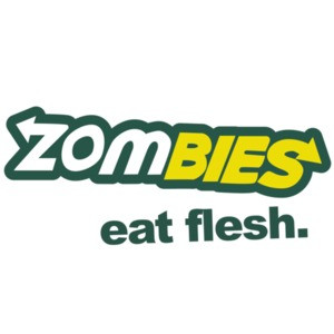 Zombies. Eat Flesh. Subway Parody. Funny Zombie