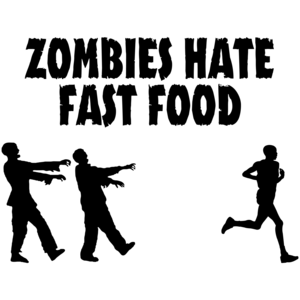 Zombies Hate Fast Food Funny