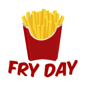 Fry Day Funny French Fries Pun